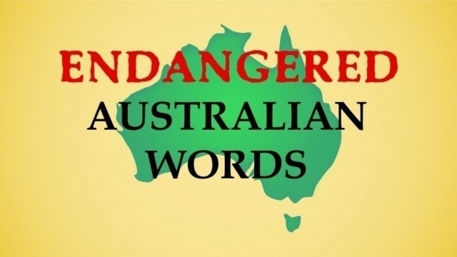 Endangered Australian Words