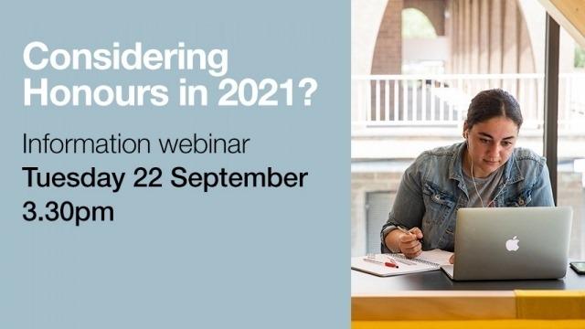CASS Honours Information Webinar