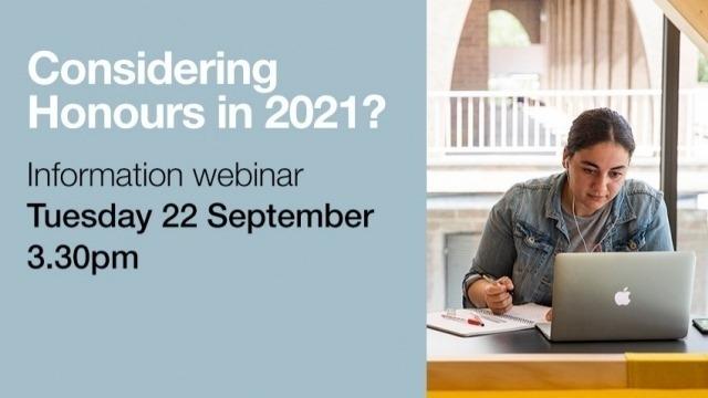 Webinar: Study Honours at CASS