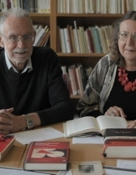 Emeritus Professor Kevin Windle and Dr Elena Govor. Image: Evana Ho
