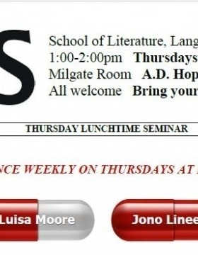 Thursday Lunchtime Seminars (TLS) 2019 - Semester 2 Program