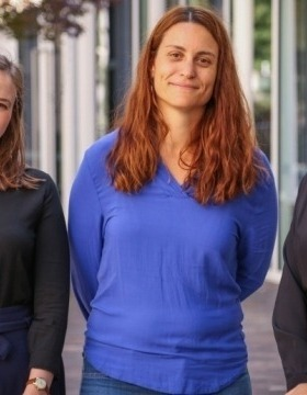 (Left to Right) Dr Gemma King, Dr Sofia Samper Carro, Professor Sam Bennett