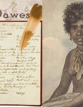 Images courtesy of The Notebooks of William Dawes, David Nathan, and the National Library of Australia.