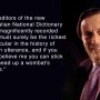Up a wombat's freckle: Barry Humphries