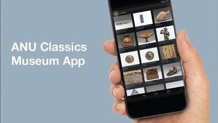 Launch of new ANU Classics Museum app