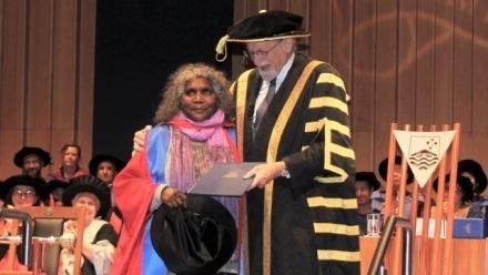 Ms Elizabeth Ellis Receives Honorary Doctorate