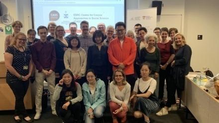 Lancaster University Centre for Corpus Approaches to Social Science Corpus Linguistics workshop