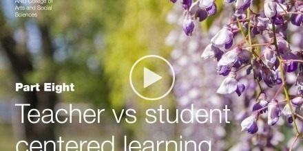 Teacher vs Student Centered Learning